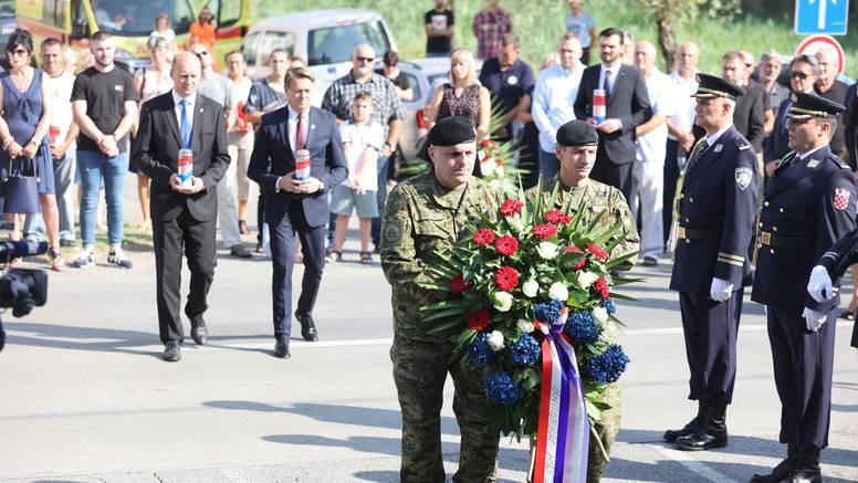 Obilježena je 30. godišnjica stradavanja 39-ero hrvatskih branitelja u obrani Dalja