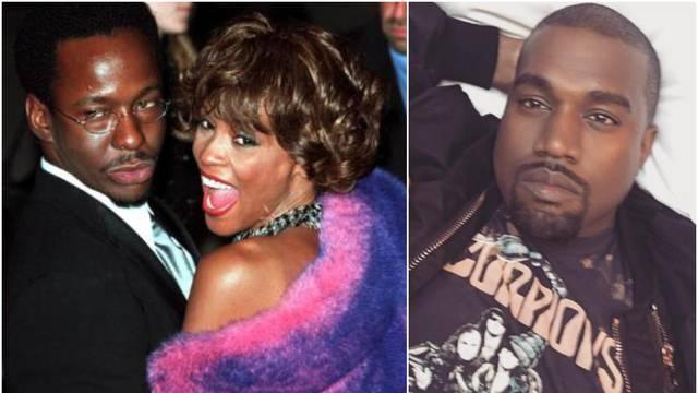 Brown želi obračun s Kanyeom zbog Whitneyine 'narko' fotke