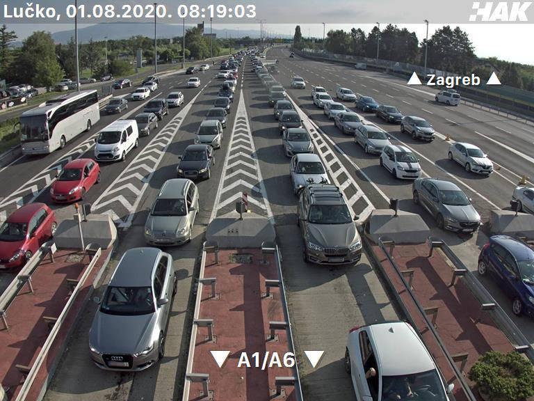 Udarni vikend donio velike gužve na autocesti i granicama: Na Lučkom kolona 5 kilometara