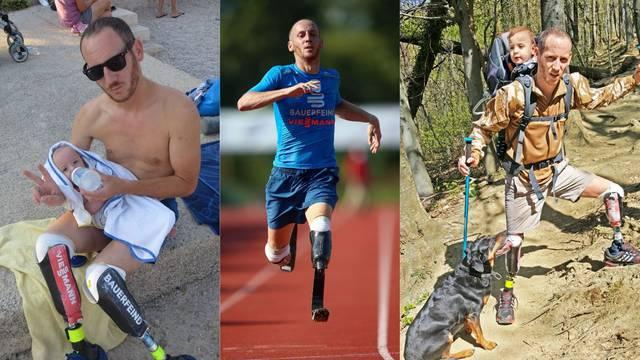 Antuna nesreća nije dotukla: 'Vlak mi je odsjekao noge, ali i dalje trčim i bavim se sportom'