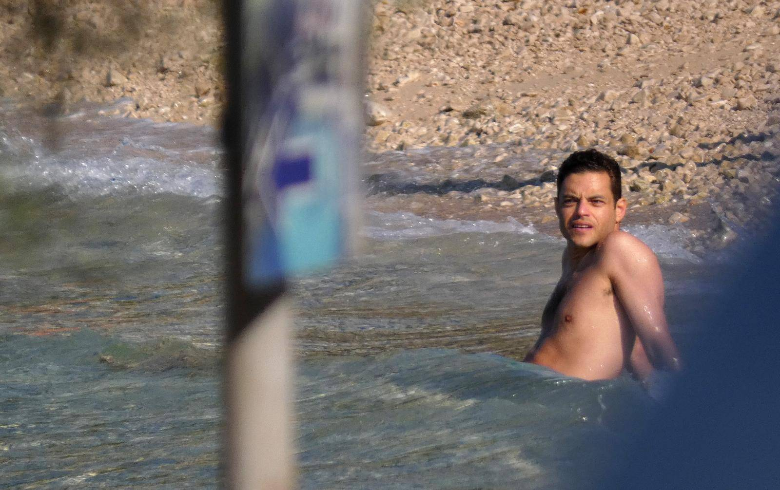 Oskarovac je u Hrvatskoj: Rami Malek se 'brčka' na otoku Braču