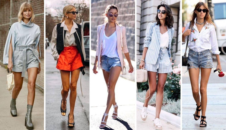 Top 20 kombinacija s kratkim hlačama za cool ženstven izgled