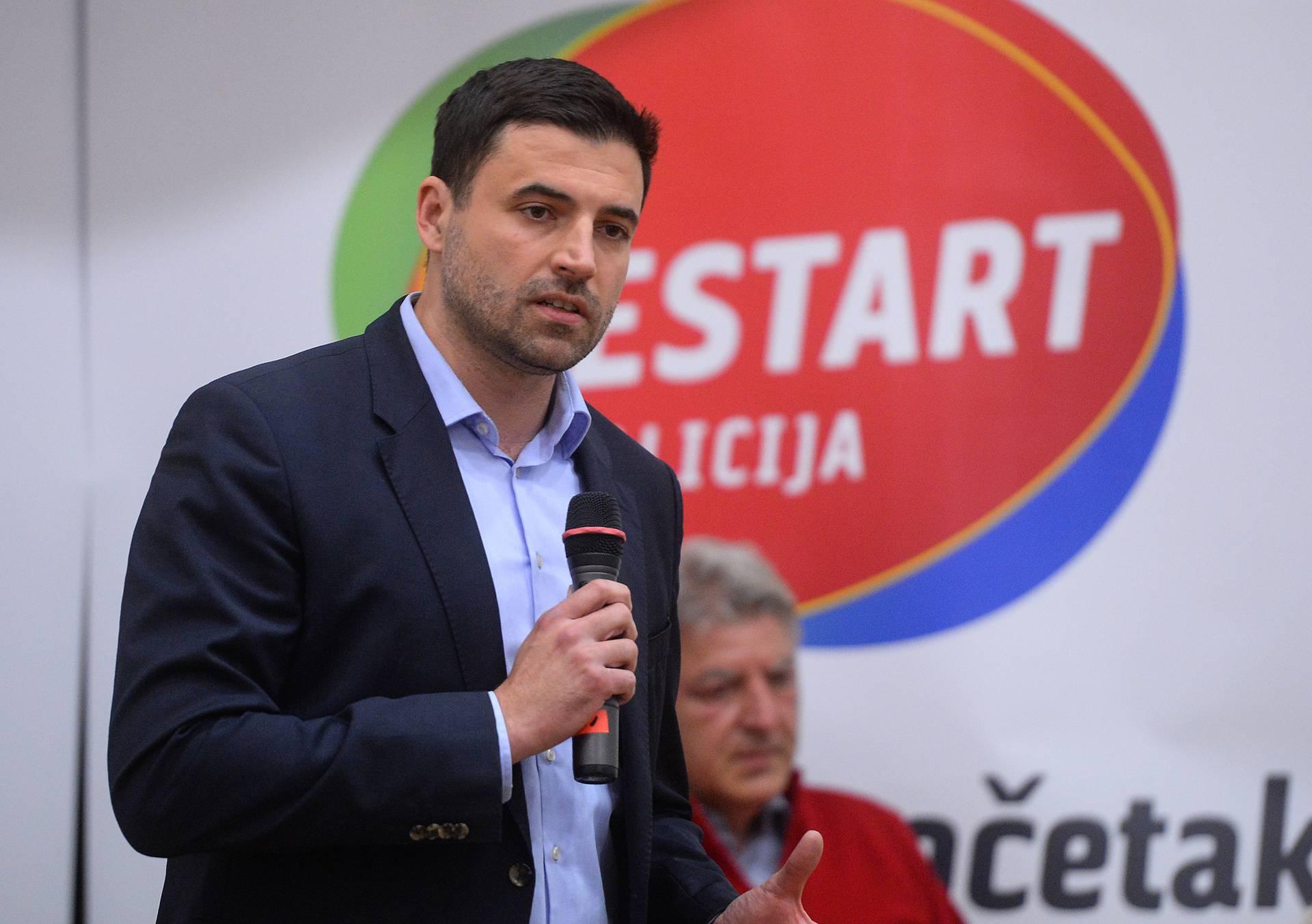 Bernardić: 'Opustošile su nas dvije kuge - korona i korupcija'