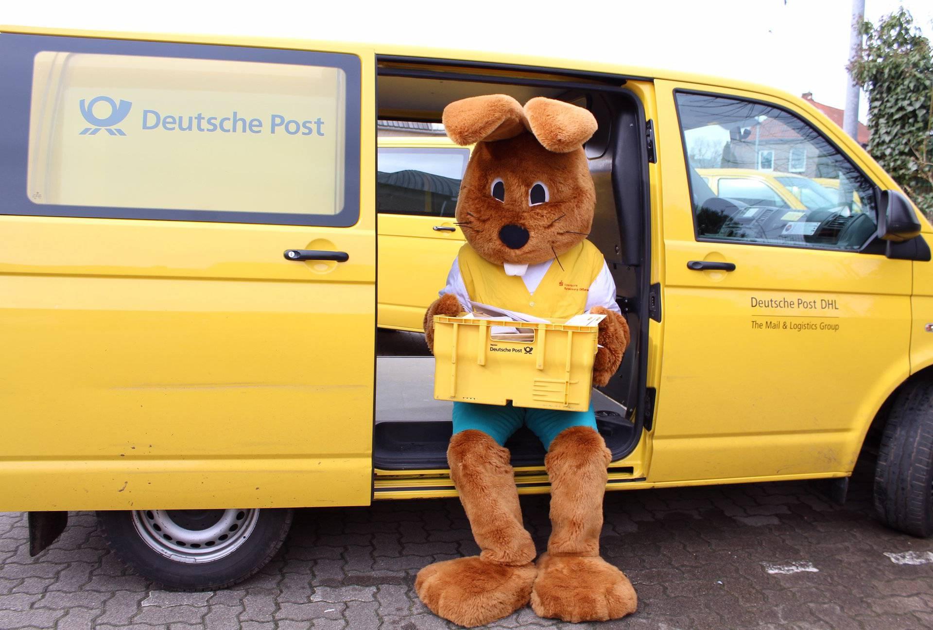 Uskrsni zeko u Njemačkoj ove godine je dobio najviše pisama