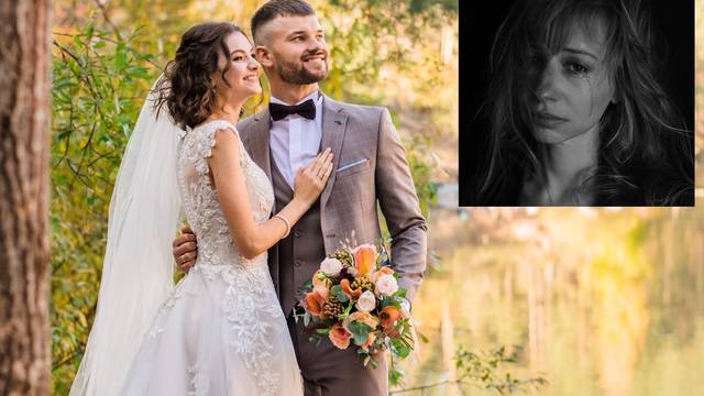 Razočarana žena i vjenčanje