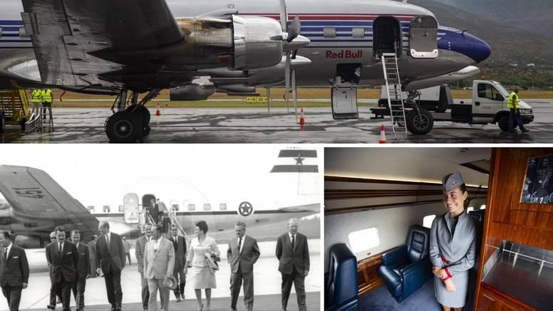 Američka grdosija: Titov prvi službeni avion bio je luksuz u zraku, a vlasnik mu je milijarder