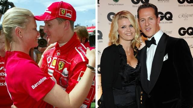 Schumacherova žena: On mi fali svaki dan... Tu je, drukčije, ali je tu. S nama. Čuvamo ga i štitimo