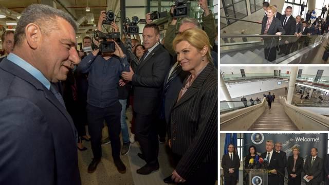 Kolinda otvorila novi terminal, u Gaženicu stigao i Gotovina
