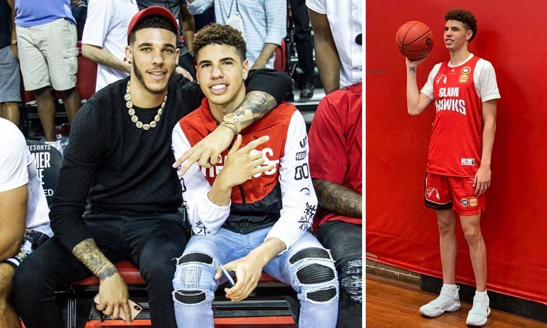 Najmlađi Ball u akciji: Tek stiže u NBA, a  želi kupiti bivši klub