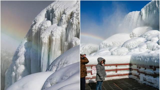 Smrznuli se i Niagarini slapovi