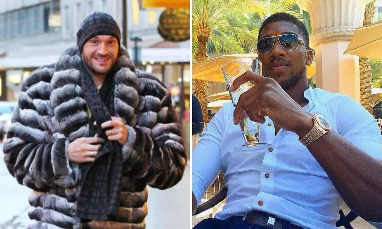 Fury vs Joshua luksuz - Ferrari, Rolls Royce, Audemars Piguet...