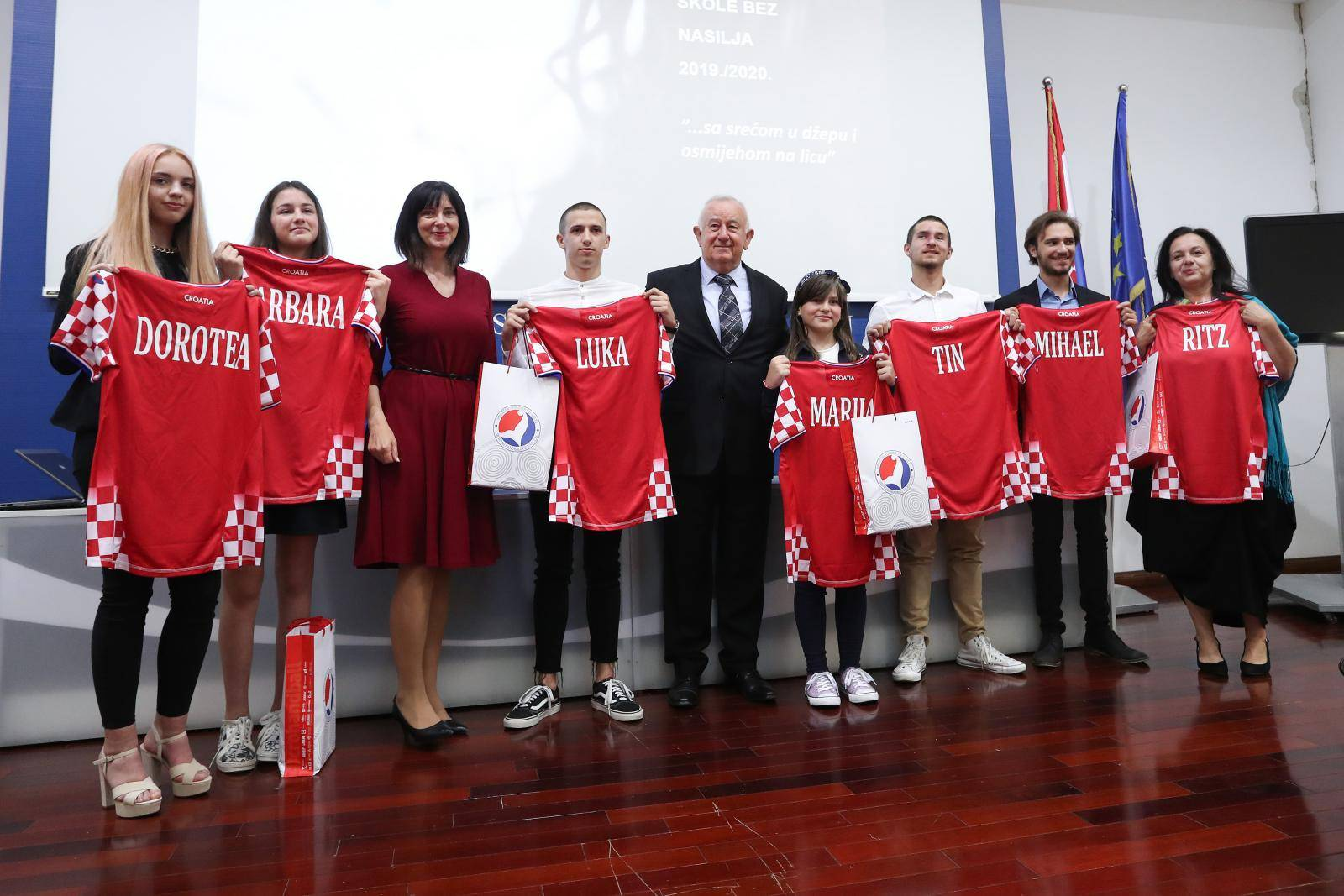 "Zagreb: Dodjela godišnjih nagrada ""Luka Ritz"" za promicanje tolerancije i škole bez nasilja"