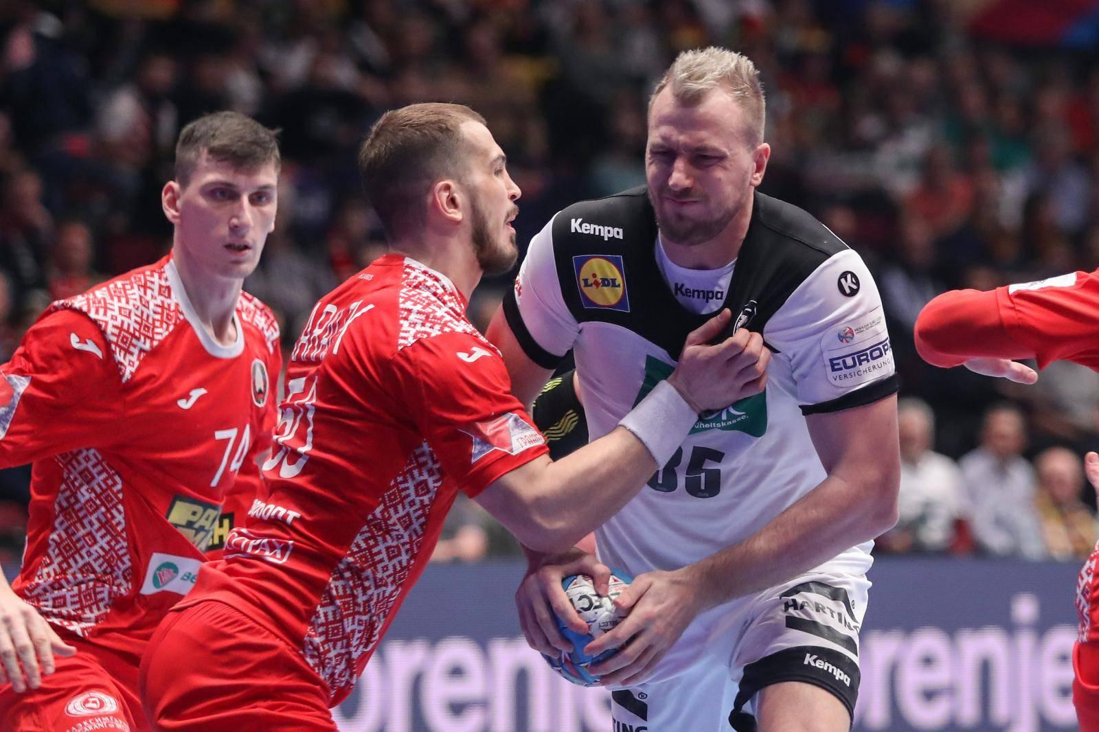 Beč: Bjelorusija i Njemačka susreli se u drugom krugu Europskog prvenstva u rukometu
