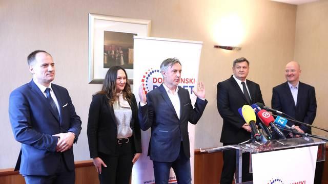 Zagreb: Predstavljeni novi članovi Domovinskog pokreta za nadolazeće izbore