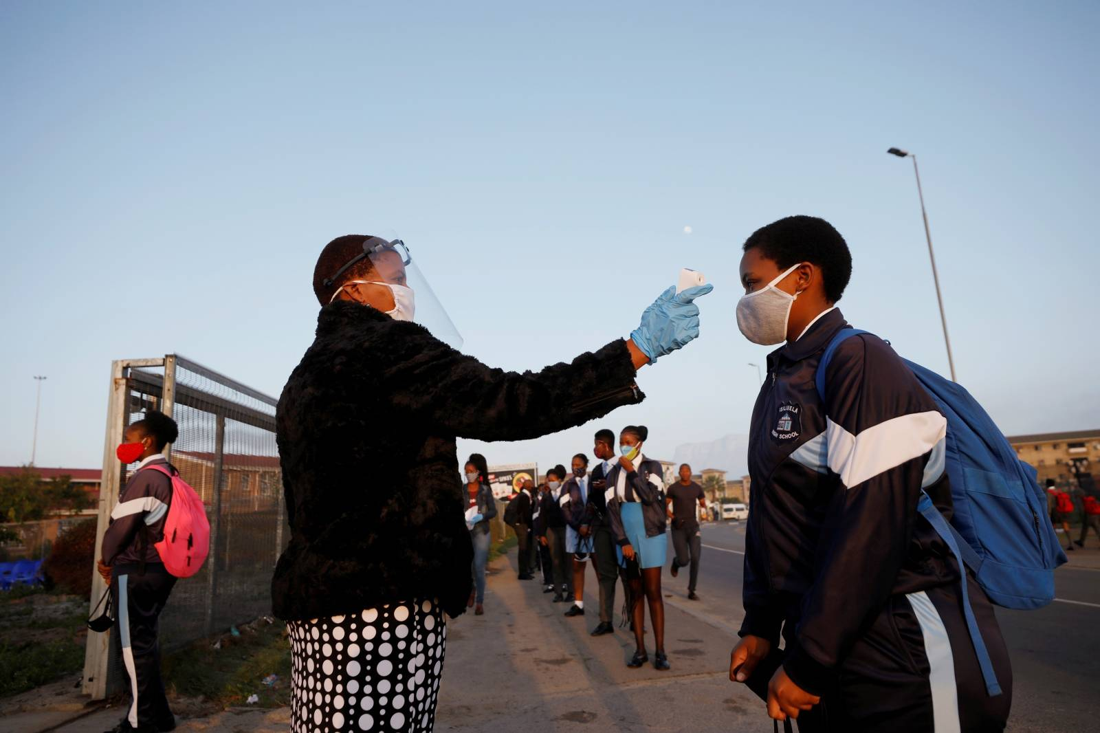 FILE PHOTO: Schools begin to reopen in Cape Town