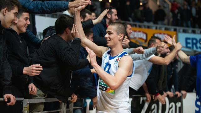 Zadar: Utakmica 21. kola regionalne košarkaške ABA lige Zadar - Primorska Koper