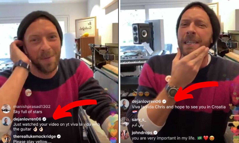 Lovren naručio pjesmu, pjevač Coldplaya nije ga prepoznao