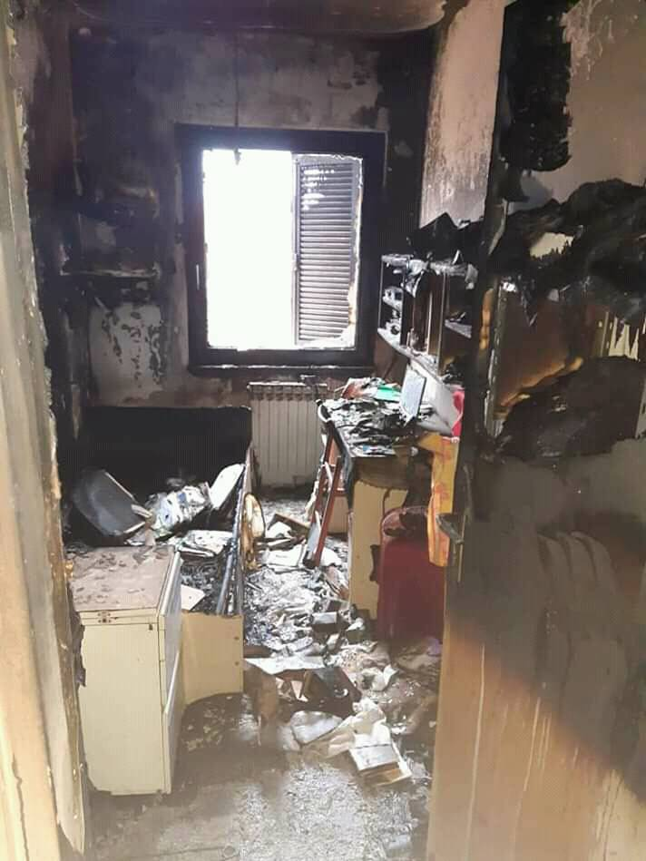 U stanu u kojem su bila 3 psića izbio požar: Svi su preživjeli