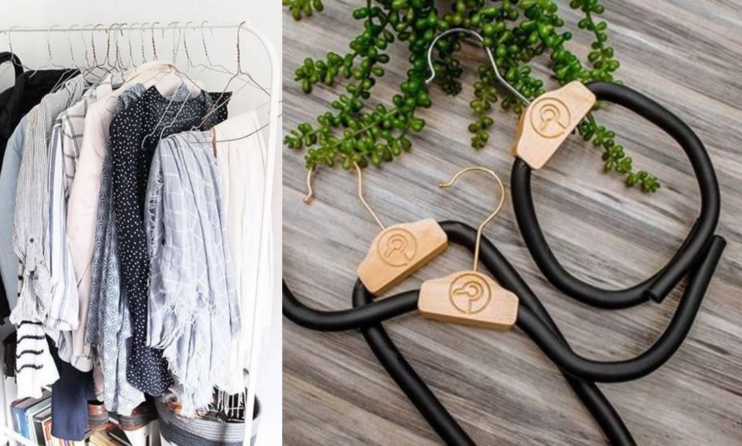 Makeover vješalice: Inovativan dizajn koji čuva oblik odjeće