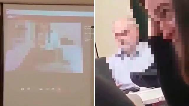 U slavonskoj školi na platnu se počeo vrtjeti pornić s laptopa