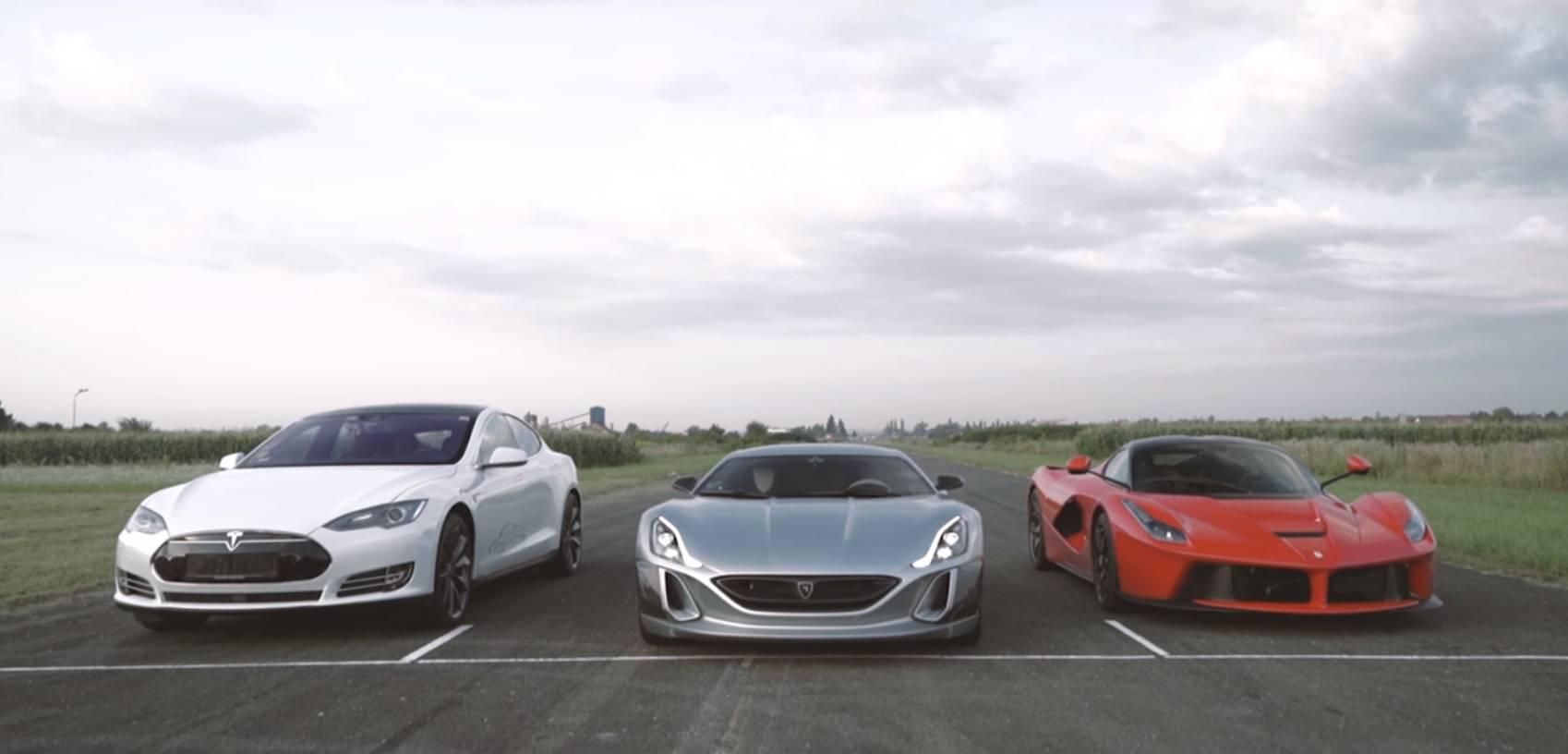 Rimac, Tesla ili Ferrari: Tko je bio najbolji u okršaju jurilica?