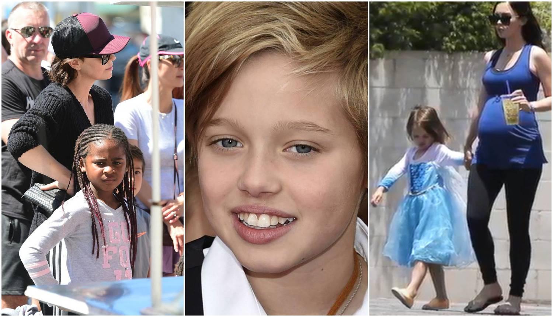 Sin Megan Fox odijeva haljine, Bradova kći nalikuje na dječaka