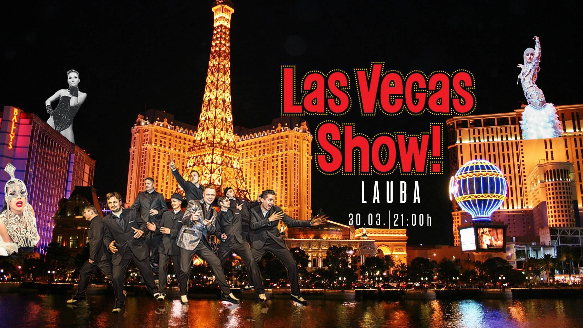 Las Vegas Show uskoro u Laubi - Poznati svi detalji