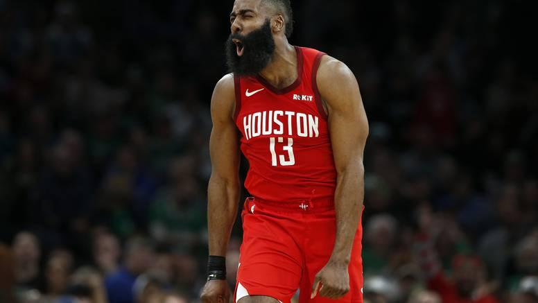 Harden i Rocketsi se igrali sa potpuno raštimanim Bostonom