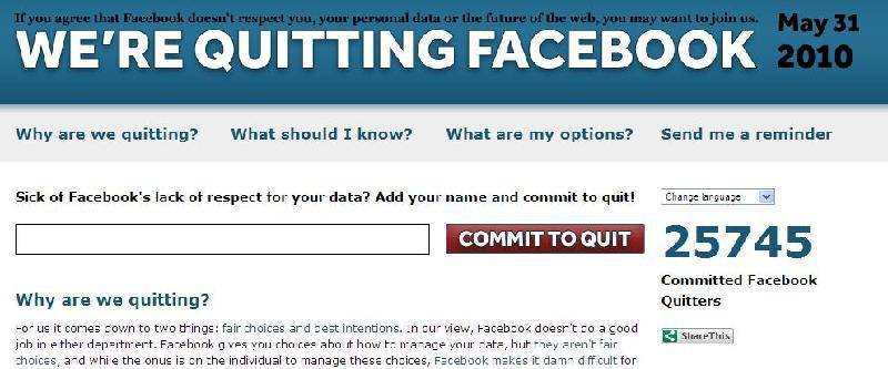 QuitFacebookDay.com