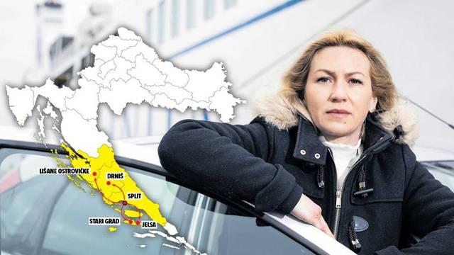 Profesorica Sunčica svaki tjedan prijeđe 500 kilometara: 'Vozim se autom, busom i trajektom'