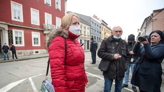 Gradonačelnica Siska: Nema ozlijeđenih, zasad sve pod kontrolom
