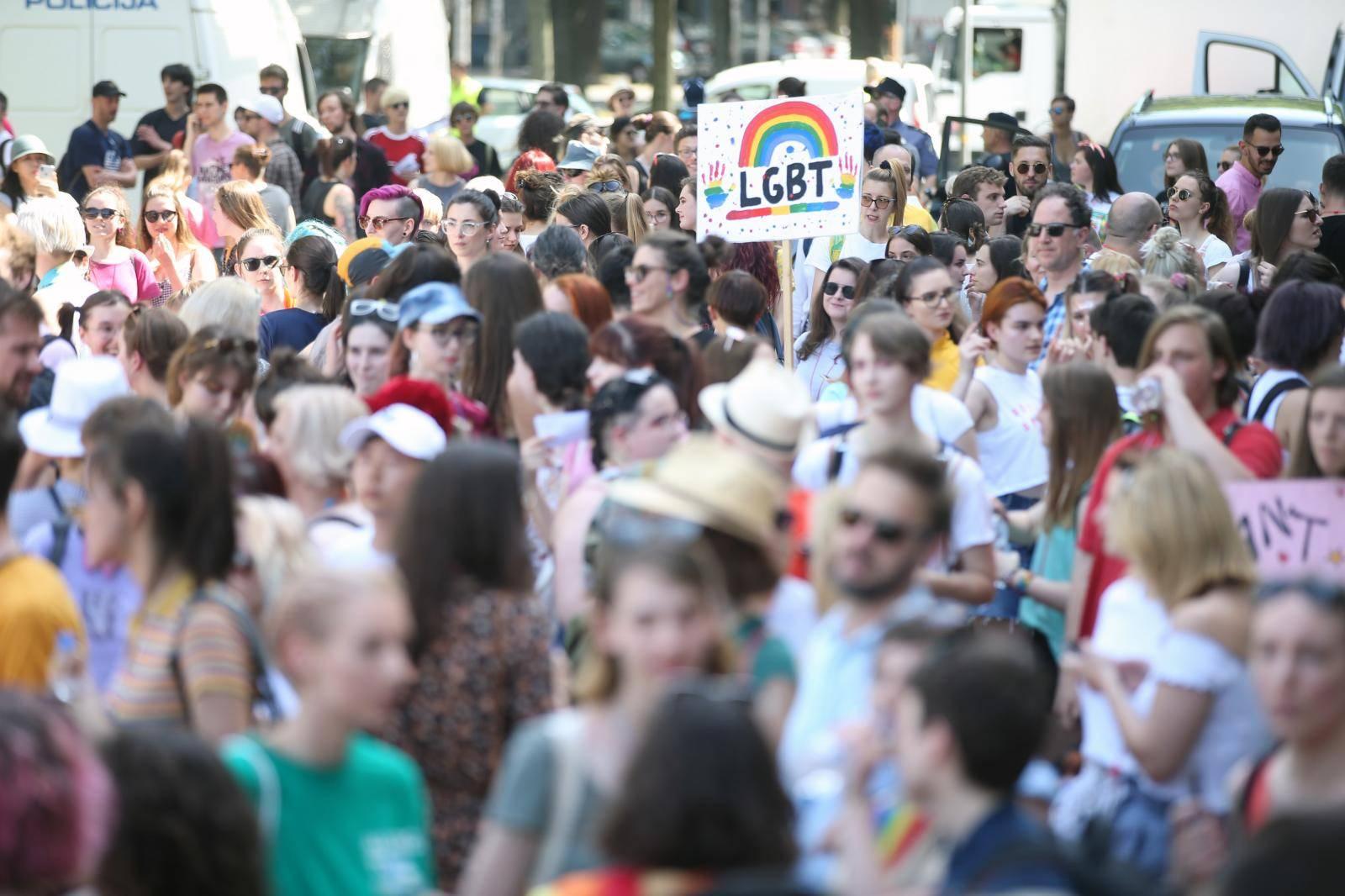 U tijeku Zagreb Pride: Uhićen jedan čovjek, čeka ispitivanje