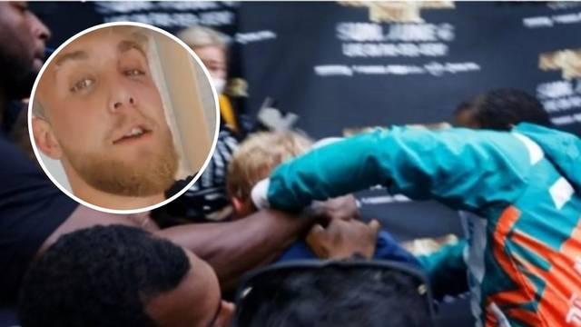 Tučnjava na sučeljavanju: Floyd poludio i nabio šljivu youtuberu