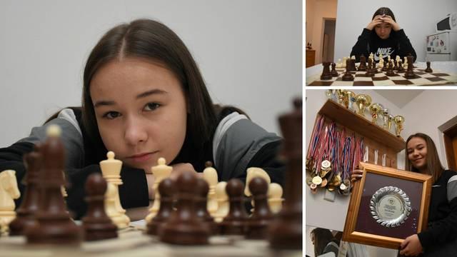 Damin gambit: Ema je najmlađa kapetanica provoligaške šahovske obitelji u Hrvatskoj
