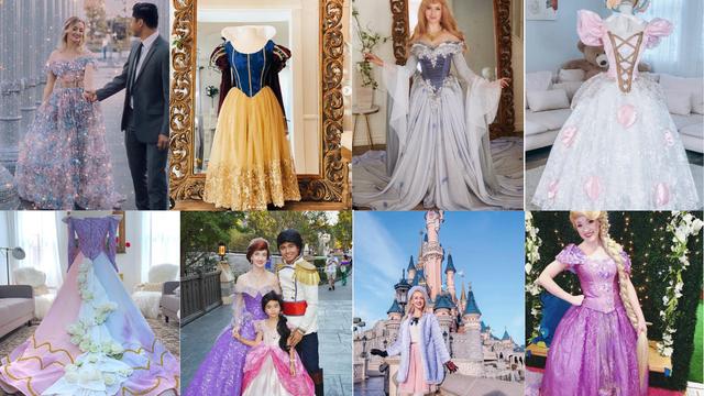 Kćeri obećao haljinu Disneyeve princeze, pa ih sad dizajnira i izrađuje po mjeri za sve uzraste
