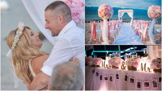 Od neuglednog prostora dobili su svadbu iz bajke: Valentina i Vatroslav potrošili 100.000 kn