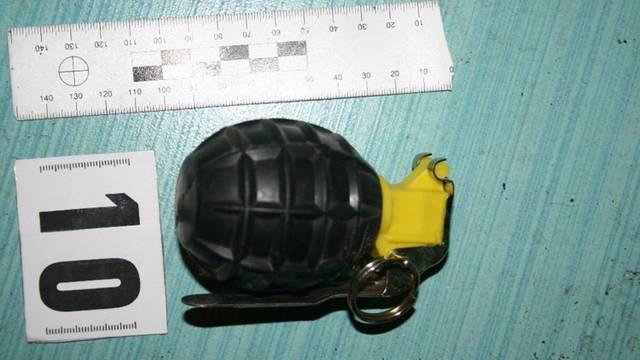 Čistio je oko svoje vikendice u Pazinu pa našao ručnu bombu