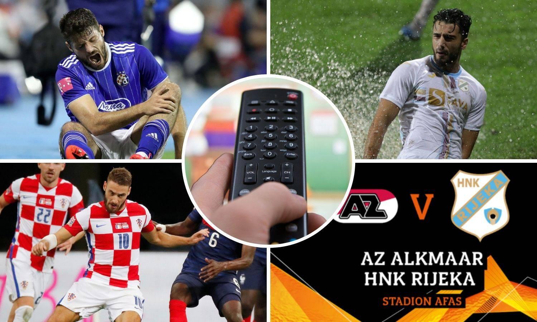 Evo gdje gledati CSKA - Dinamo, AZ - Rijeka i još osam utakmica