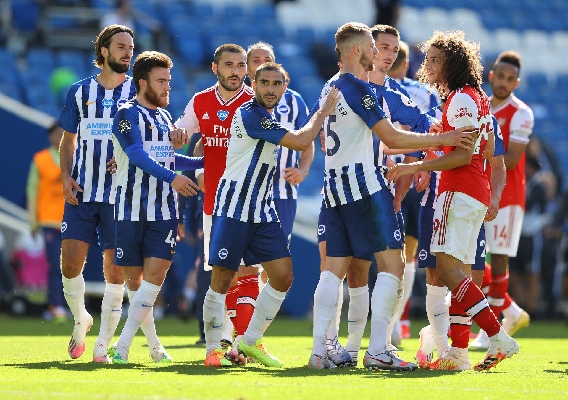 Premier League - Brighton & Hove Albion v Arsenal
