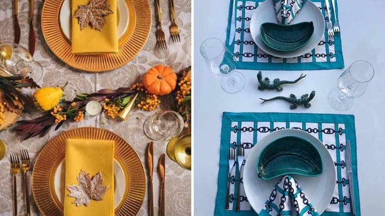 Uređivanje stola postalo trend: Dekorativne salvete su u modi