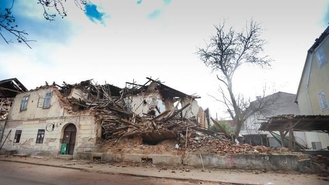 Posljedice potresa u centru Petrinje