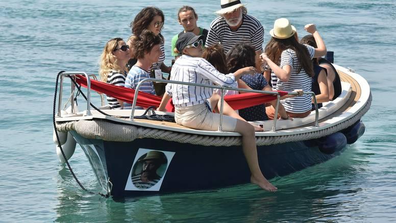 Rade Šerbedžija silno  se veseli  ploviti na svom brodu Draganu