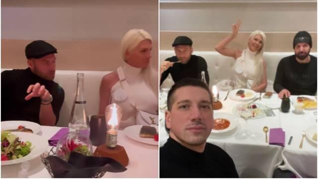 Brak se ipak ne raspada? Jelena i Duško družili su se na večeri...