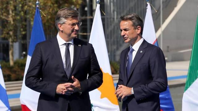 EU leaders meet ahead of 8th MED7 Mediterranean countries' summit in Athens