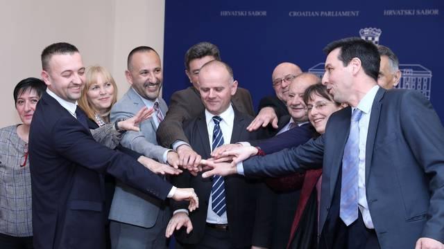 Zagreb: Konferencija o pristupanju HSP Ante Starčević platformi Hrvatskih suverenista