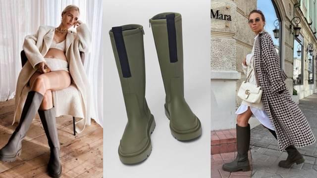 Visoke vojničke čizme bit će hit proljeća, čak i kad bude toplije