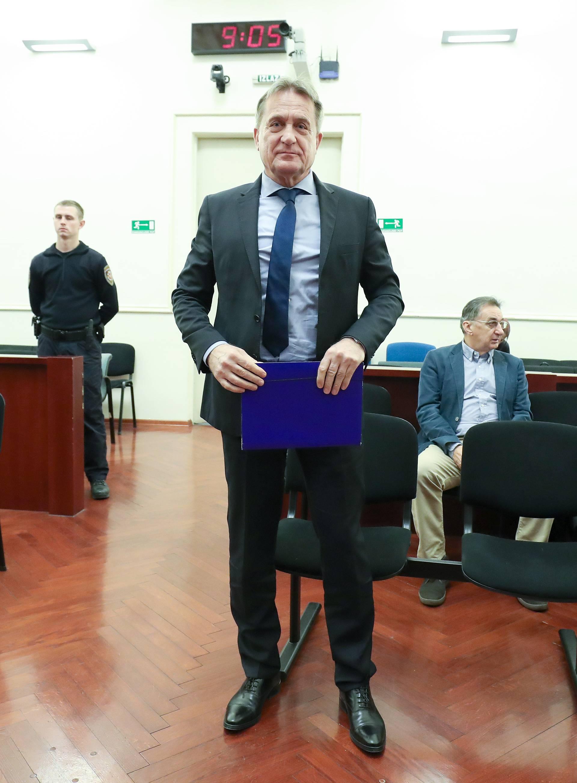 Zagreb: Božidar Kalmeta dovršio je svoju obranu u predmetu HAC- Remorker