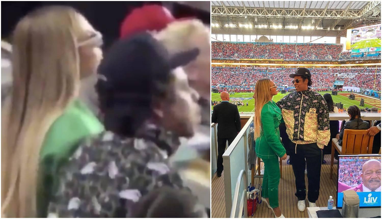 Razbjesnili Ameriku: Beyonce i Jay-Z sjedili za vrijeme himne