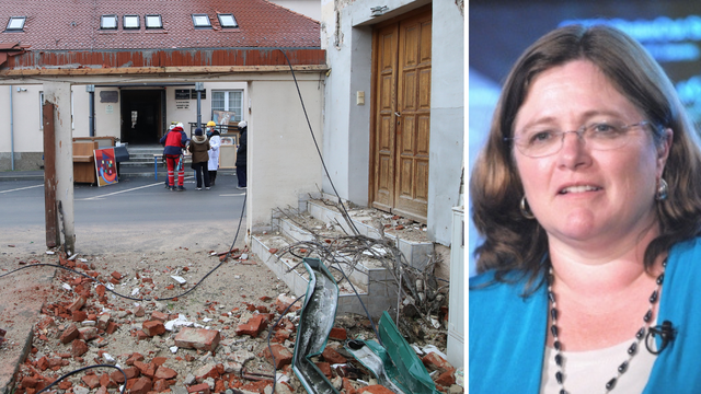 Poznata svjetska seizmologinja poručila Hrvatima: 'Još dugo će vas tresti, to je sve normalno'