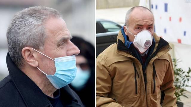 Ma tko brine za to: Krstičević i Bandić su maske stavili - krivo